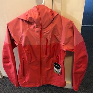 Peach and Coral Northface Jacket NWT